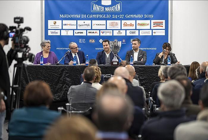 La Winter Marathon 2019 presentata al Centro Porsche Brescia Saottini