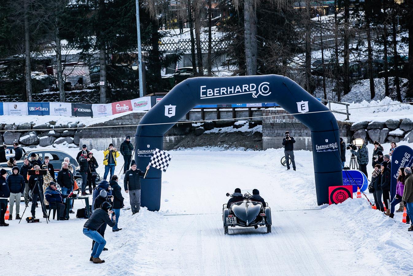 Eberhard & Co. Main Sponsor e Official Timekeeper della Winter Marathon 2020