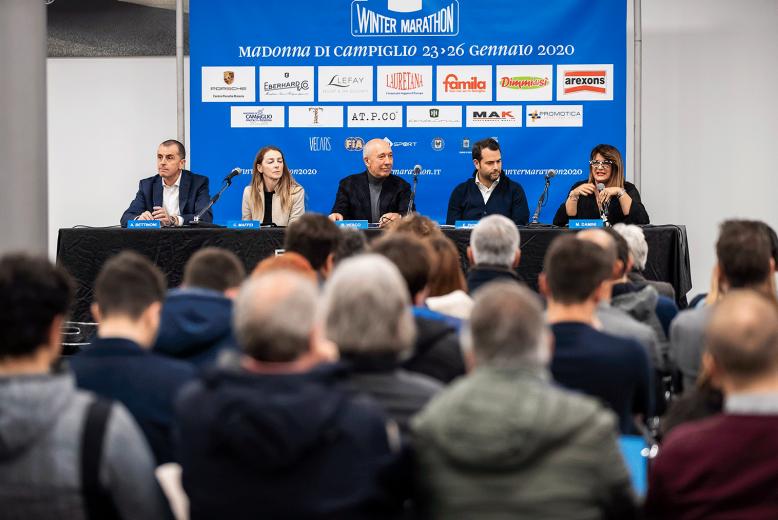 The 32nd edition of Winter Marathon presented at Centro Porsche Brescia