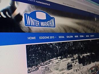 Winter Marathon, online il nuovo sito: navigazione più ricca e integrazione con i social network