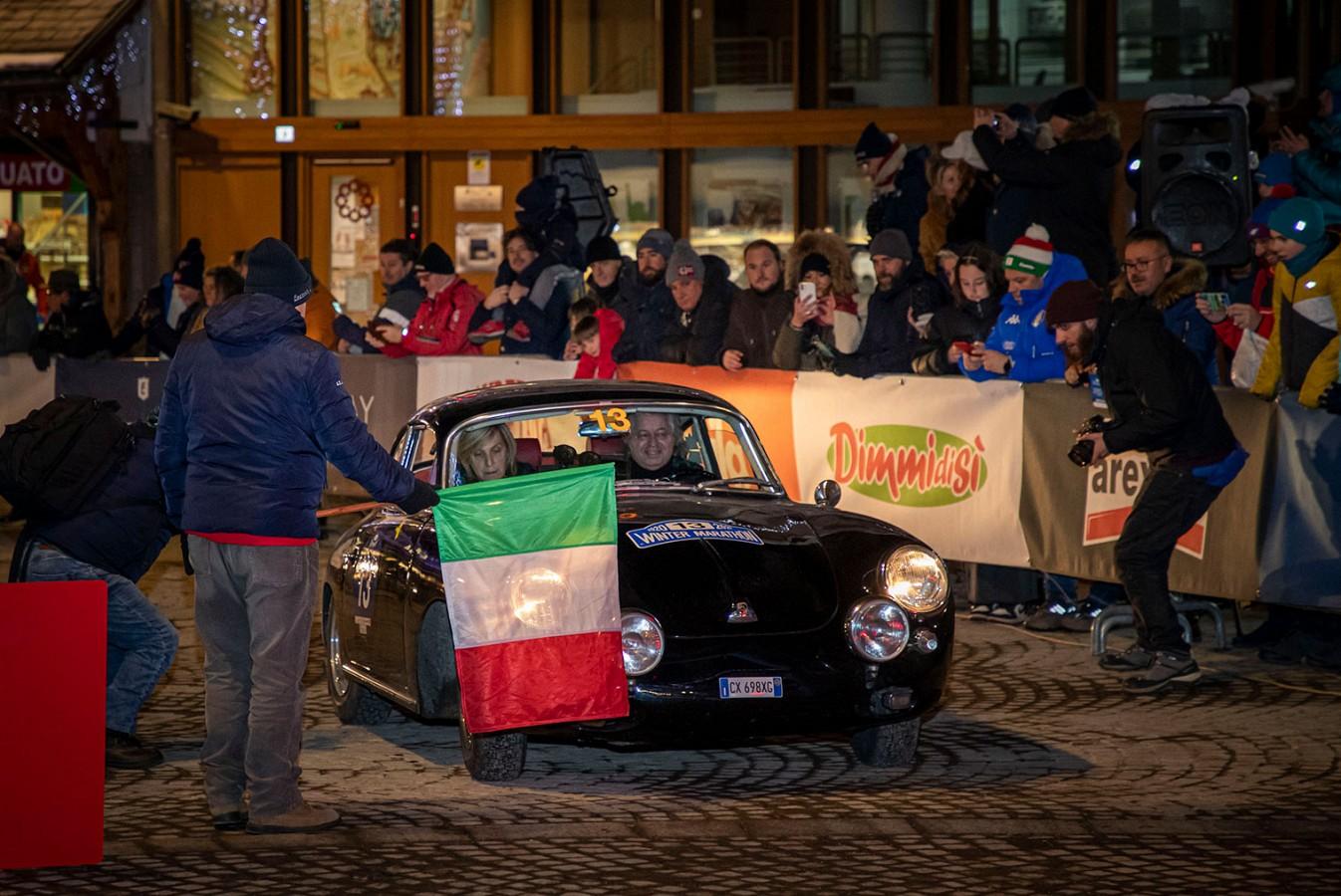 Barcella-Ghidotti al comando della gara dopo la prima tappa