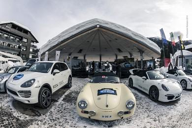Winter Marathon con Centro Porsche Brescia a Madonna di Campiglio
