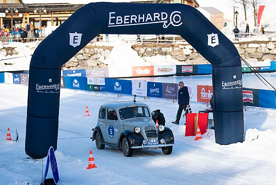 Bellini-Tiberti win the Eberhard Trophy on the frozen lake
