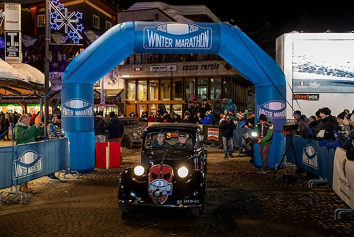 La 33ª Winter Marathon al via con 90 vetture: online l'elenco degli iscritti