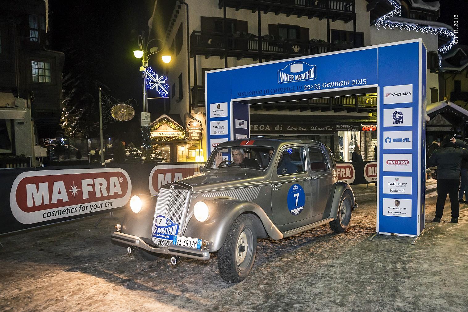 27ª edizione: vincono Aliverti-Maffi su Lancia Aprilia del 1940