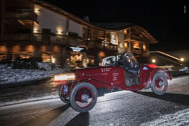 La Fiat 508 S del 1932 di Spagnoli-Parisi conquista la Winter Marathon 2016
