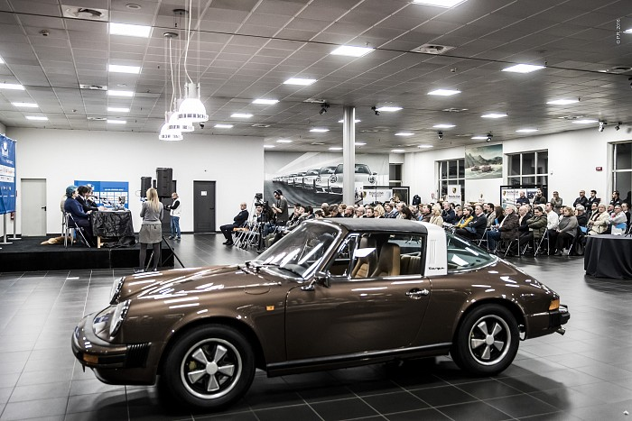 La #WinterMarathon2017 'svelata' al Centro Porsche Brescia Saottini