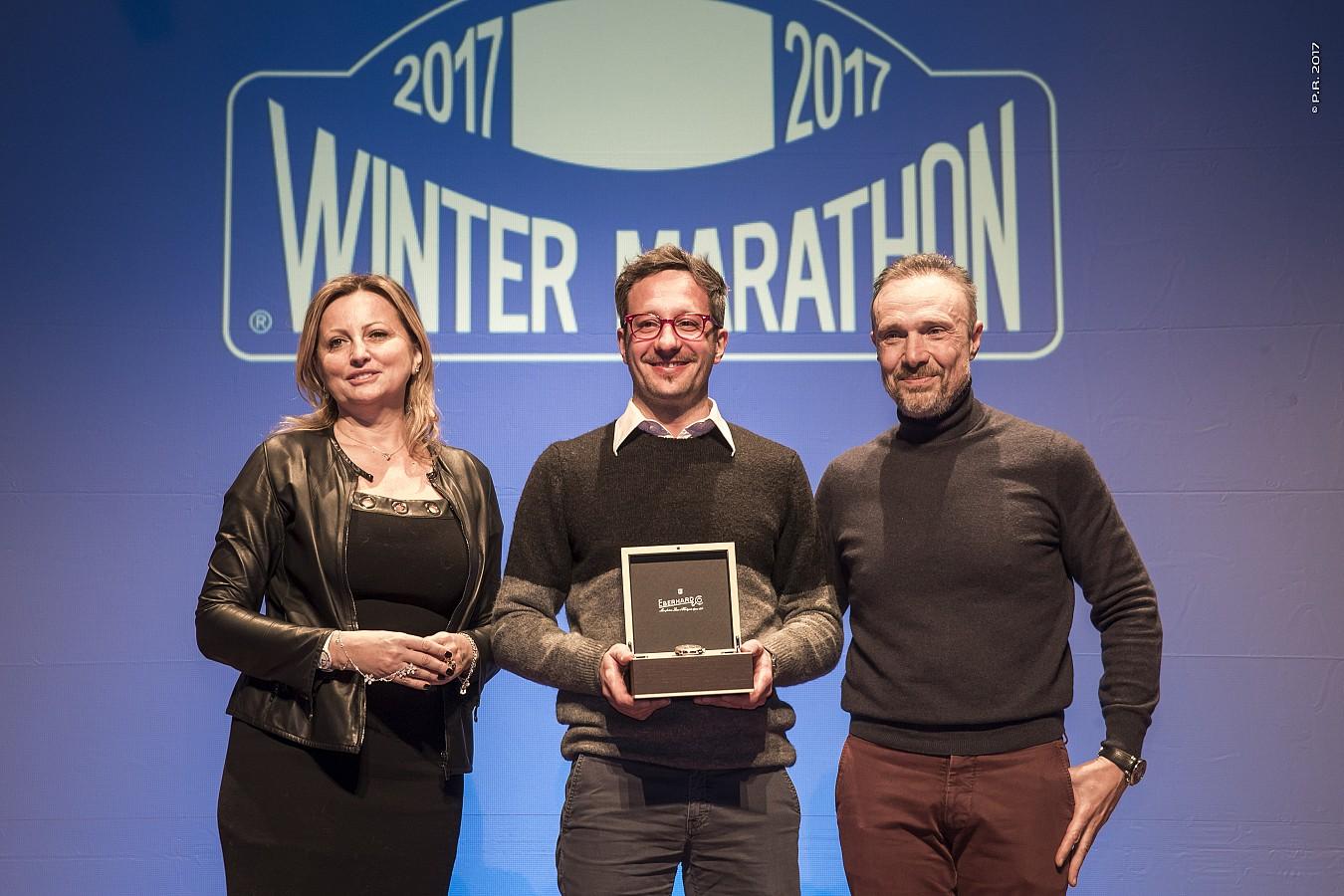 Ad Andrea Belometti ed Emanuele Peli il Trofeo Eberhard sul lago ghiacciato