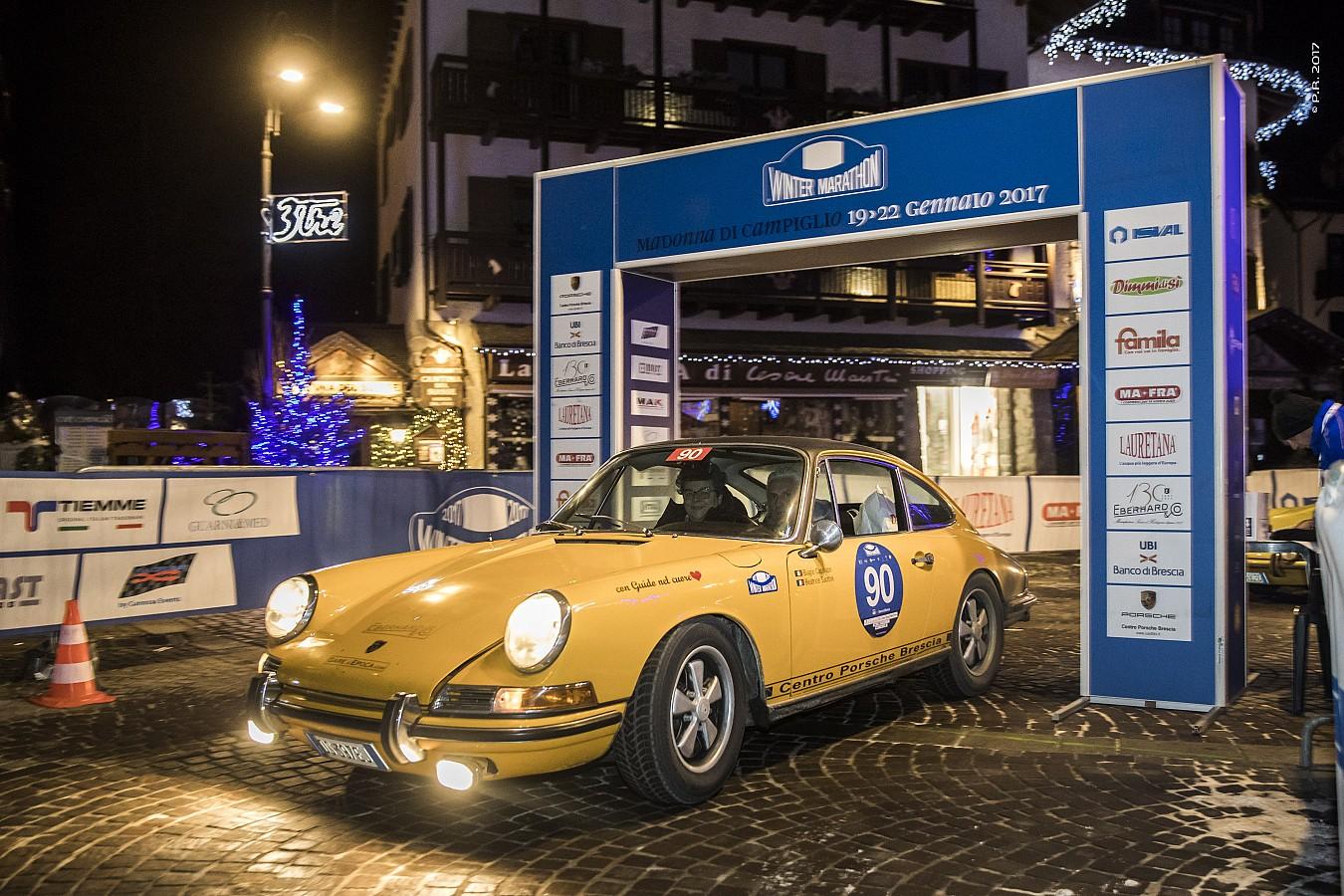 Winter Marathon e Centro Porsche Brescia di nuovo insieme sulle Dolomiti